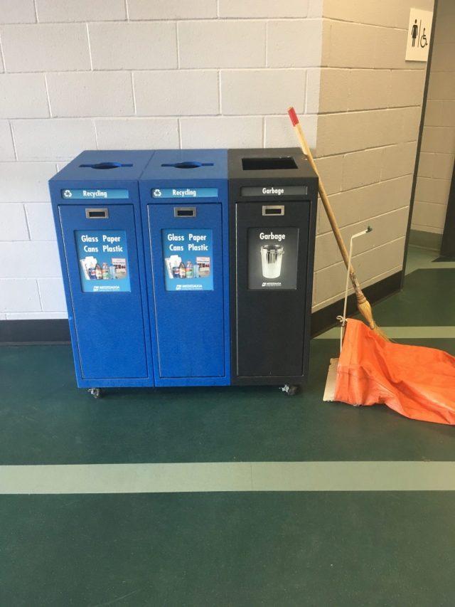 Establish recycling stations