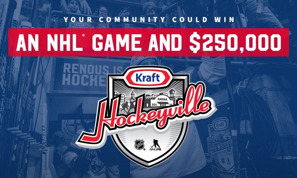 Il reste encore du temps pour présenter la candidature de votre communauté pour Kraft Hockeyville!